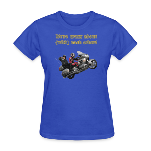Ladies T Front Wingwheelie Crazy - Women's T-Shirt