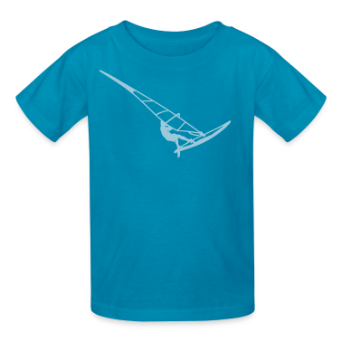 Surfer (vector) Kids' Shirts