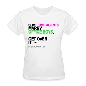 Some Time Agents Marry Office Boys Women's - Women's T-Shirt