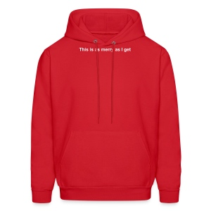 This is as merry as I get - Men's Hoodie