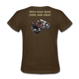 Ladies T Back Wingwheelie Crazy - Women's T-Shirt