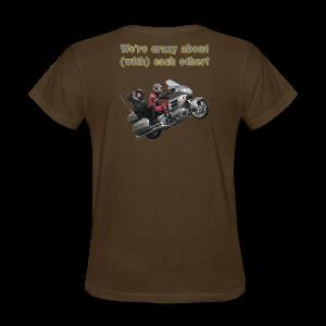 Ladies T Back Wingwheelie Crazy - Women's T-Shirt
