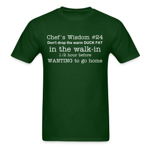 Chef's Wisdom - Men's T-Shirt