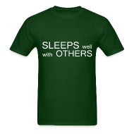 T-Shirts ~ Men's T-Shirt ~ Sleeps well with Others