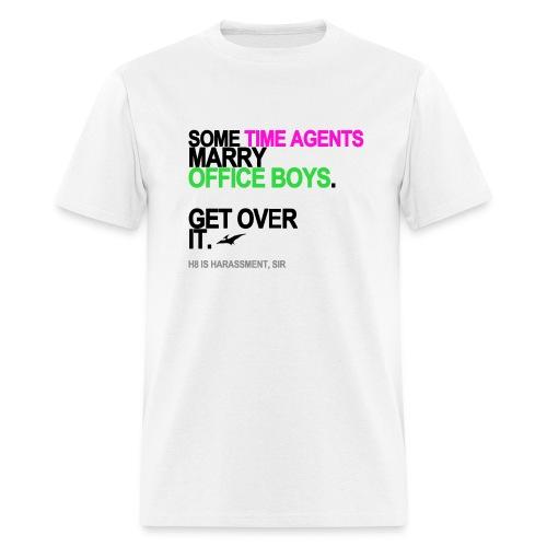 Some Time Agents Marry Office Boys Men's - Men's T-Shirt