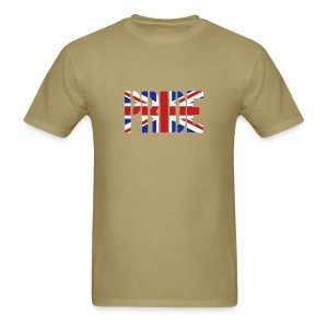 PRIDE Britain Flag, British Flag, Union Jack, UK Flag - Men's T-Shirt