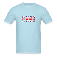 T-Shirts ~ Men's T-Shirt ~ PROUD Britain Flag, British Flag, Union Jack, UK Flag
