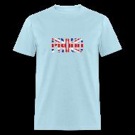T-Shirts ~ Men's T-Shirt ~ PROUD Britain Flag, British Flag, Union Jack, UK Flag