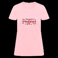 Women's T-Shirts ~ Women's T-Shirt ~ PROUD Britain Flag, British Flag, Union Jack, UK Flag
