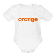 Baby Bodysuits ~ Baby Short Sleeve One Piece ~ White onesee