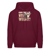 Hoodies ~ Men's Hoodie ~ WITH WHAT?