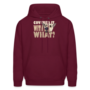 WITH WHAT? - Men's Hoodie