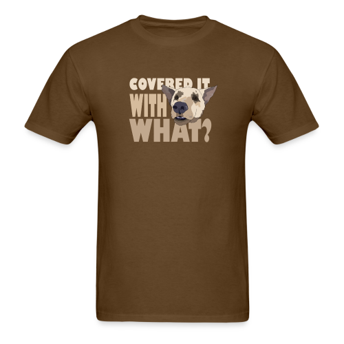 WITH WHAT? - Men's T-Shirt