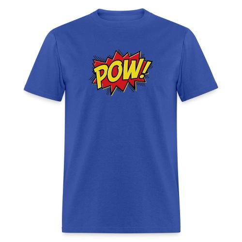 POW! POW ON SEA BLUE BRO - Men's T-Shirt