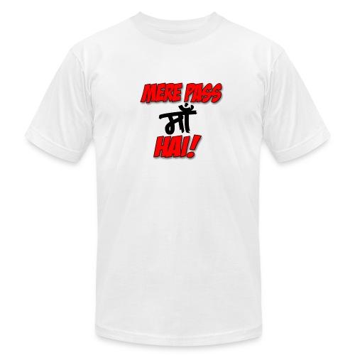 Mere pass maa hai: Men's jersey tee - Men's Fine Jersey T-Shirt