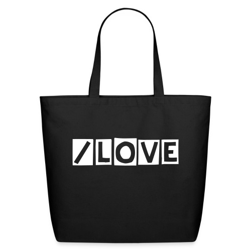 /LOVE Tote - Eco-Friendly Cotton Tote