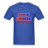 T-Shirts ~ Men's T-Shirt ~ Jesus Is American Funny T-Shirt
