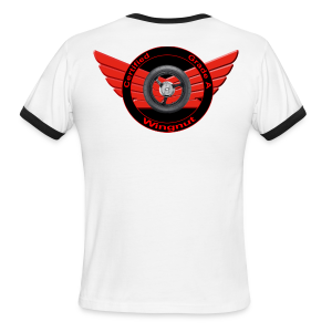 Men's L/W Ringer T-Back-Grade A wingnut - Men's Ringer T-Shirt