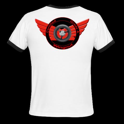 Men's L/W Ringer T-Back-Grade A wingnut - Men's Ringer T-Shirt