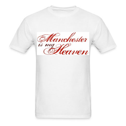 Manchester is my heaven - Men's T-Shirt