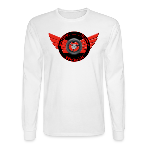 Men's LS Hanes T-Front-Grade A wingnut - Men's Long Sleeve T-Shirt