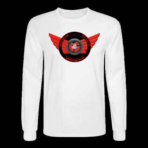 Men's LS Hanes T-Front-Grade A wingnut - Men's Long Sleeve T-Shirt