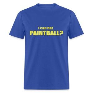 I Can Haz Paintball? - Men's T-Shirt