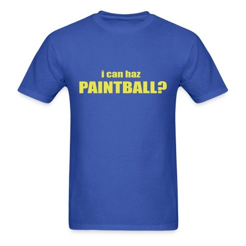 I Can Haz Paintball? - Men's T-Shirt