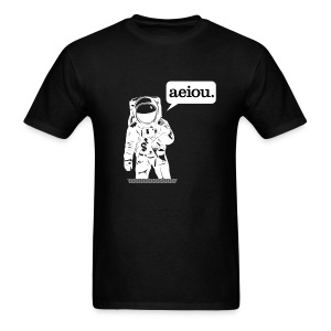 aeiou-men's - Men's T-Shirt
