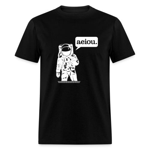 aeiou-men's - Men's T-Shirt