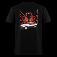 T-Shirts ~ Men's T-Shirt ~ 1980 Mustang Cobra - Polar White - BACK