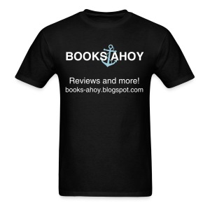 Books Ahoy Men's T-shirt (Black) - Men's T-Shirt