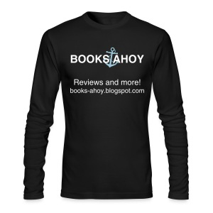 Books Ahoy Men's Long-Sleeved T-shirt (black) - Men's Long Sleeve T-Shirt by Next Level