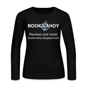 Books Ahoy Women's Long-Sleeved T-shirt (black) - Women's Long Sleeve Jersey T-Shirt