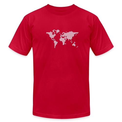 It's a Pixelous World - Men's Jersey T-Shirt