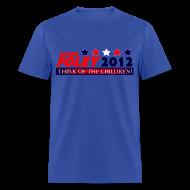T-Shirts ~ Men's T-Shirt ~ Foley 2012 Think Of The Children Cruel, Political T-Shirt!