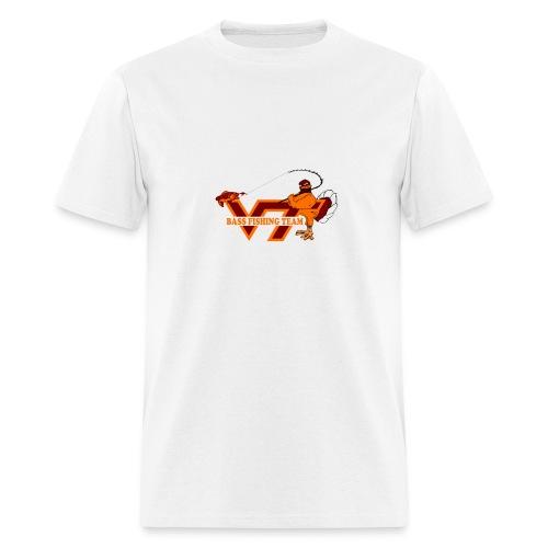 Virginia Tech Bass Fishing Team  - Men's T-Shirt
