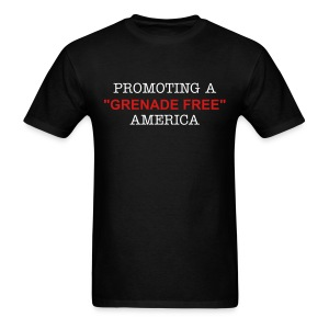 Promoting a Grenade Free America. - Men's T-Shirt