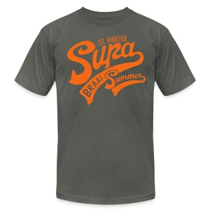 SUPA BRAAI SUMMER - Men's T-Shirt by American Apparel