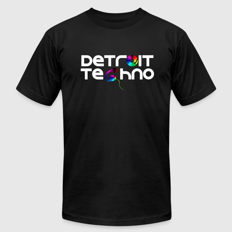 Detroit Techno T-Shirts - Men's T-Shirt by American Apparel
