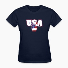 usa rocks 4th of July Women's T-Shirts