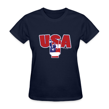 Fourth Of JulY USA ROCKS Women's T-Shirts