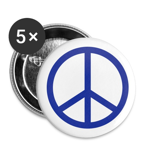 Peace Buttons - Buttons large 2.2'' (5-pack)