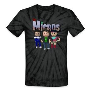 Micros - Tie Dye - Unisex Tie Dye T-Shirt