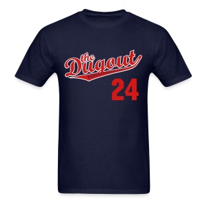 MannyTheTorpedoes #24 (Manny Ramirez) Red Sox Dugout T - Men's T-Shirt