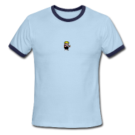 T-Shirts ~ Men's Ringer T-Shirt ~ Mutant Mudds - Max in the Sky