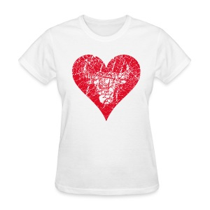 Bulls Heart - Women's T-Shirt