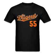 T-Shirts ~ Men's T-Shirt ~ TimTheEnchanter #55 (Tim Lincecum) Giants Dugout T