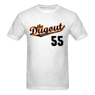 T-Shirts ~ Men's T-Shirt ~ TimTheEnchanter #55 (Tim Lincecum) Giants Dugout T (Ash)