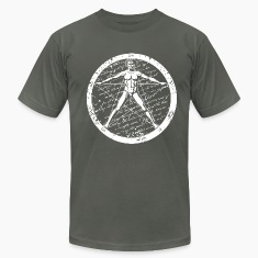 Agrippa Pentagram (round for dark) T-Shirts